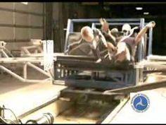 NHTSA Crash Test of Unrestrained child