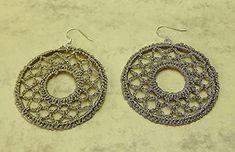 Crochet Earrings, Handmade, Jewelry, Schmuck, Hand Made, Jewlery, Jewerly, Jewels, Jewelery