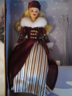 27431-Victorian Ice Skater Barbie