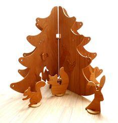 Wooden Forest Toy by Lesna Vesna Dawanda Sencillos Juguetes de Madera
