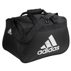 215bc41ff18d Amazon.com  Adidas Diablo Small Duffel Bag - Black White  Sports   Outdoors