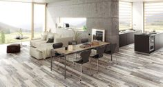 New Origen Dark collection, a new concept of #ceramic wood #flooring. #ceramics #tiles #interiordesign