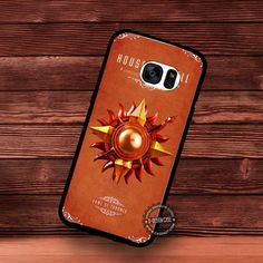 As Card for House Martell Game of Thrones - Samsung Galaxy S7 S6 S5 Note 7 Cases & Covers