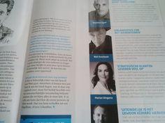 Auteur Bert Overbeek met een artikel over zijn boek Mannen en/of Vrouwen in Managementboek Magazine: 'Organisaties zijn net dierentuinen'. #mannenenofvrouwen #bertoverbeek #mgtboeknl #futurouitgevers