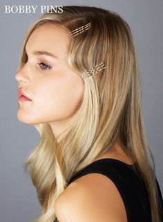 10 Genius Ways to Use Bobby Pins: Give Old Hollywood a try. | MarieClaire.com