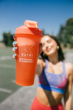 The perfect partner to keep you motivated throughout your workout! Gym Bottle, Wire Whisk, Blender Bottle, Workout Essentials, Shaker Bottle, Nutrition Shakes, Stay Focused, Weight Loss Supplements, Protein Shakes