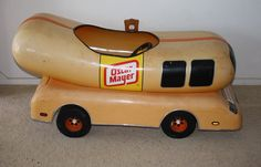 Wagons Pedal Cars Go Karts on oscar meyer weiner toy car