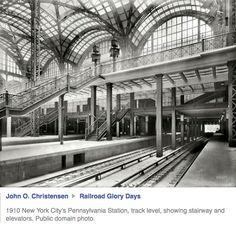Old Penn Station at platform level