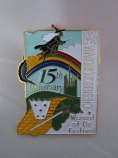 Wizard of Oz Lapel Pin by OzRoad on Etsy