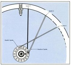 bicycle wheel lacing diagram