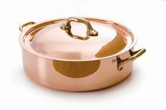 Mauviel Copper 6-1//4-Inch Dome Lid
