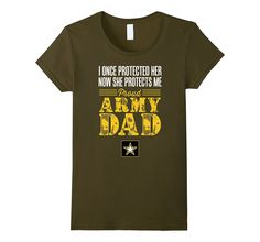 Proud Army Mom Daughter Soldier Navy Air Force T Shirt Navy Air Force, Air Force Mom, Navy Military, Army & Navy, Army Shirts, Navy Mom, Dad Daughter, T Shirts For Women, Mens Tops