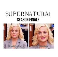 Supernatural Season Finale- Do You Believe In Miracles