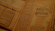 Le cahier - Volets ou vers