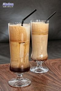 frappe I Love Coffee, Hot Coffee, Iced Coffee, Latte, Coffee Candy, Coffee Ice Cream, Delicious Desserts, Food And Drink, Cooking