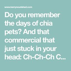 Do you remember the days of chia pets? And that commercial that just stuck in your head: Ch-Ch-Ch Chia! Chia seeds are now not only known as a fuzzy green pet, but more recently for their great taste, versatility, and impressive nutritional benefits! These unprocessed seeds have been around for thousands of years. They come...Read More »
