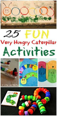 25 Fun The Very Hungry Caterpillar Activities One of my all time favourite Kids books is The Very Hungry Caterpillar. As a qualified early years teacher I fell in love with this book and over…