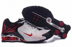 official photos eb2f4 241b3 Find Quality Men s Nike Shox Torch Shoes White Black Red Brilliant Silver  For Sale and