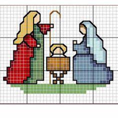 Las chorradikas de Laury: nacimiento en punto de cruz
