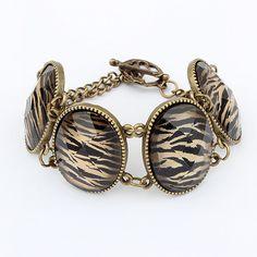 Fashion elegant vintage leopard print bracelet --Free Shipping on http://www.aliexpress.com/store/115568. $49.27