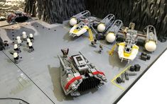 You guys have got to check out this incredible Star Wars LEGO diorama that was created by a fan named Markus. The LEGO build features the Battle of Rhen Var from Star Wars: Battlefront. He could have done anything from the film like the Battle of Hoth or Endor, but he choose the Battle of Rhen