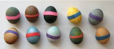 DIY: Coloring eggs with natural homemade dye for Norooz (Persian New Year) or Easter | step by step pictorial guide by Fig & Quince (Iranian food blog)
