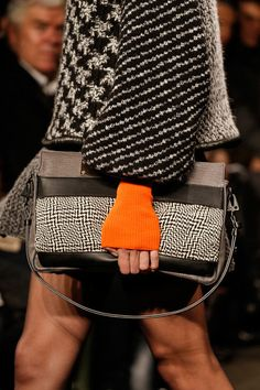 NYFW Rag & Bone fall 2013, the new bracelet is a knit cuff.