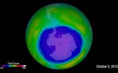 Il Buco dell'Ozono si sta richiudendo #buco #ozono #clima