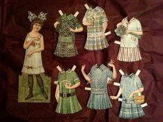 Elsie Dinsmore Paper Dolls