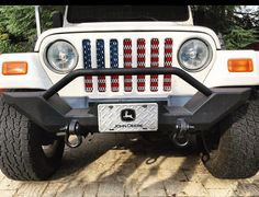 Jeep Grill Inserts by JeepGrillsByTaylor on Etsy