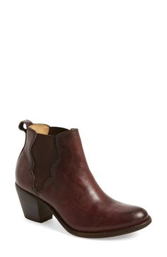 Frye 'Jackie' Leather Ankle Boot (Women) available at #Nordstrom