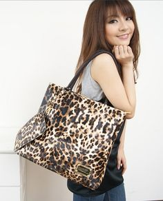 Free Shipping 2011 female bags leopard print bag fashion bag vintage bag handbag-inOthers from Luggage & Bags on Aliexpress.com $10.85