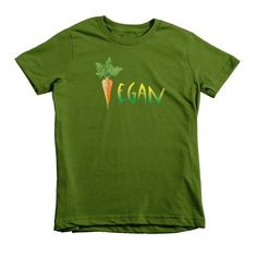 Vegan Kids Short Sleeve T-Shirt