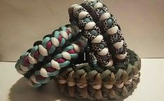 Wide Paracord Bracelets