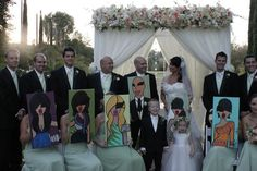 Custom Bridesmaid Paintings and Gifts by twiggyoriginals on Etsy, $125.00