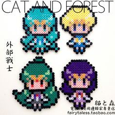 Sailor Moon perler beads
