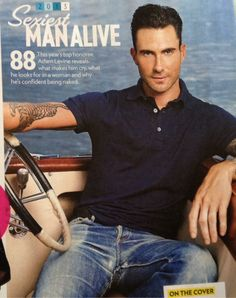 Man Alive is right-Adam Levine