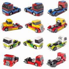 Lego Racing Trucks