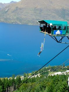 Bungee jumping in the South Island of New Zealand will be sure to get your blood pumping!