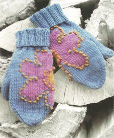 Hena Mittens French Knots Tutorial, As Seen on Knitting Daily TV Episode 505 - Knitting Daily