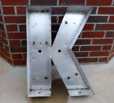 K Channel Letter From Etsy