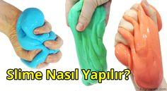 Slime nasıl yapılır? Borakssız Slime yapılır mı? Hangi malzemeler ile yapılır? Malzeme listesi nedir? Yapılış videosu izle. Şampuan, traş köpüğü, detarjan.