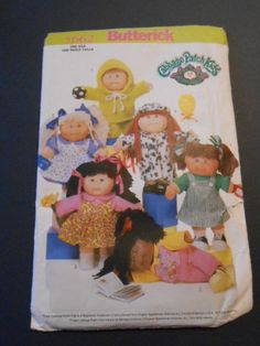 Butterick 5662 Cabbage Patch Clothes 14 by MadkDesigns on Etsy, $9.99