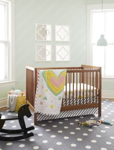 Pattern Party baby bedding by Oh Joy for Nod