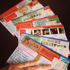 Postcrossing ansichtkaarten