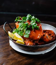 Singapore Chilli Mud Crab by Kingsley's Steak & Crabhouse • Flavours of Sydney