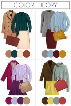 Fall Color palette pairings