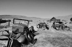 Old Rusty Cars af JanBrand