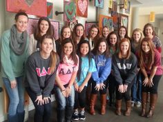 These University of Arkansas Alpha Delta Pi girls all happen to be from the Kansas City area, and decided to volunteer with RMHC-KC over their winter break! We love our ADPis! University Of Arkansas, Alpha Delta, Kansas City, T Shirts For Women, Shit Happens, Winter, Girls, Fashion, Winter Time