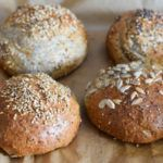 Low Carb Rolls perfect for dinner takeaway or lunch. Soft inside nice brown outside! LowCarbBrötchen # The post The BEST & DELICIOUS Low Carb (Breakfast) rolls appeared first on Win Dessert. Low Carb Lunch, Low Carb Breakfast, Breakfast Recipes, Detox Breakfast, Breakfast Cookies, Breakfast Dessert, Recipes Dinner, Lunch Recipes, Drink Recipes